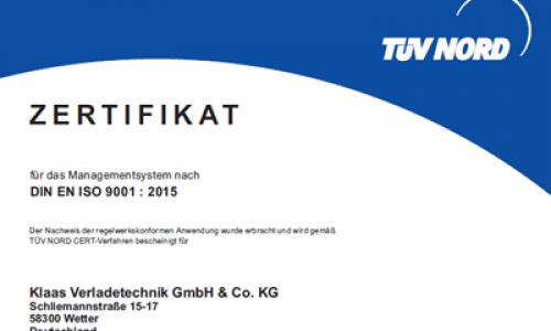 ISO DIN 9001