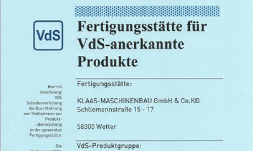 VDS Fertigungsstaette
